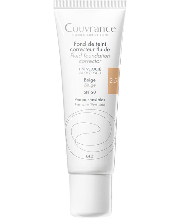 Maquillaje Fluido Couvrance tono beige 2.5