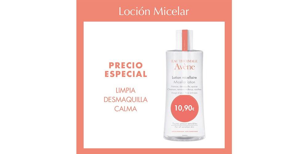 precio especial loción micelar Avène