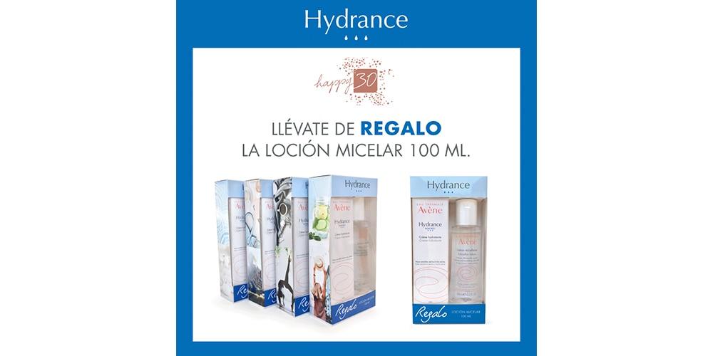 Promoción Hydrance + regalo loción micelar