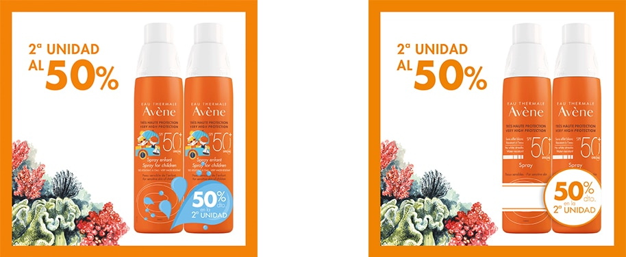 Spray SPF 50+ Eau thermale Avène