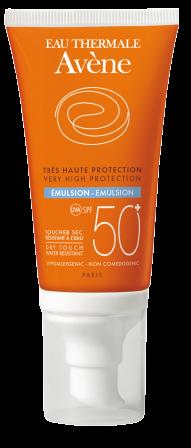 Emulsión SPF 50+ sin perfume