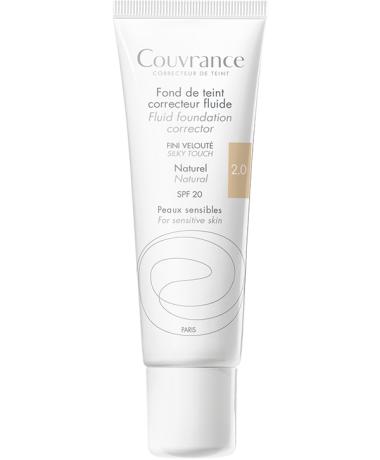 Maquillaje Fluido Couvrance tono natural 2