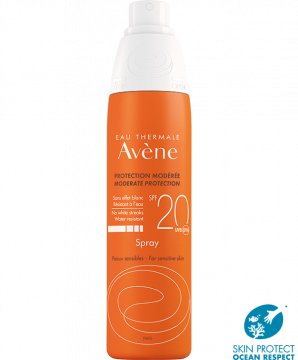 Moderate protection spray SPF 20