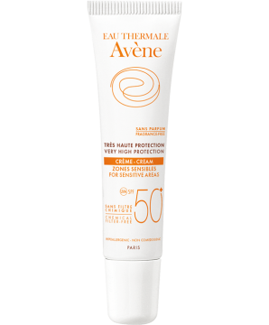 Very High Protection Mineral Cream SPF 50+ for sensitive areas