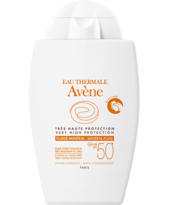 Very High Protection Mineral fluid SPF 50+
