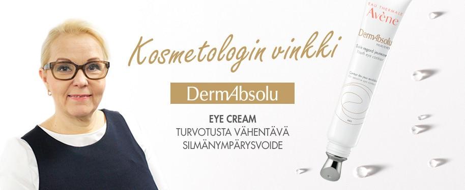 Kosmetologin vinkki DermAbsolu Eye Cream