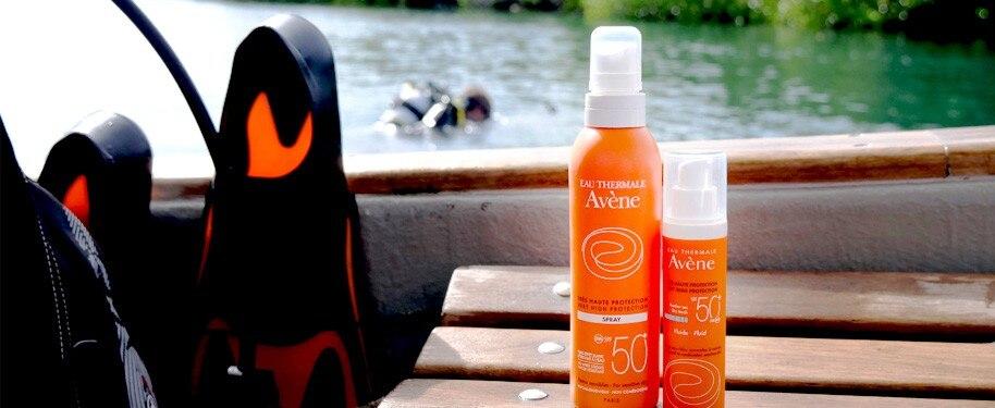 Suunto luottaa Avènen aurinkovoiteisiin