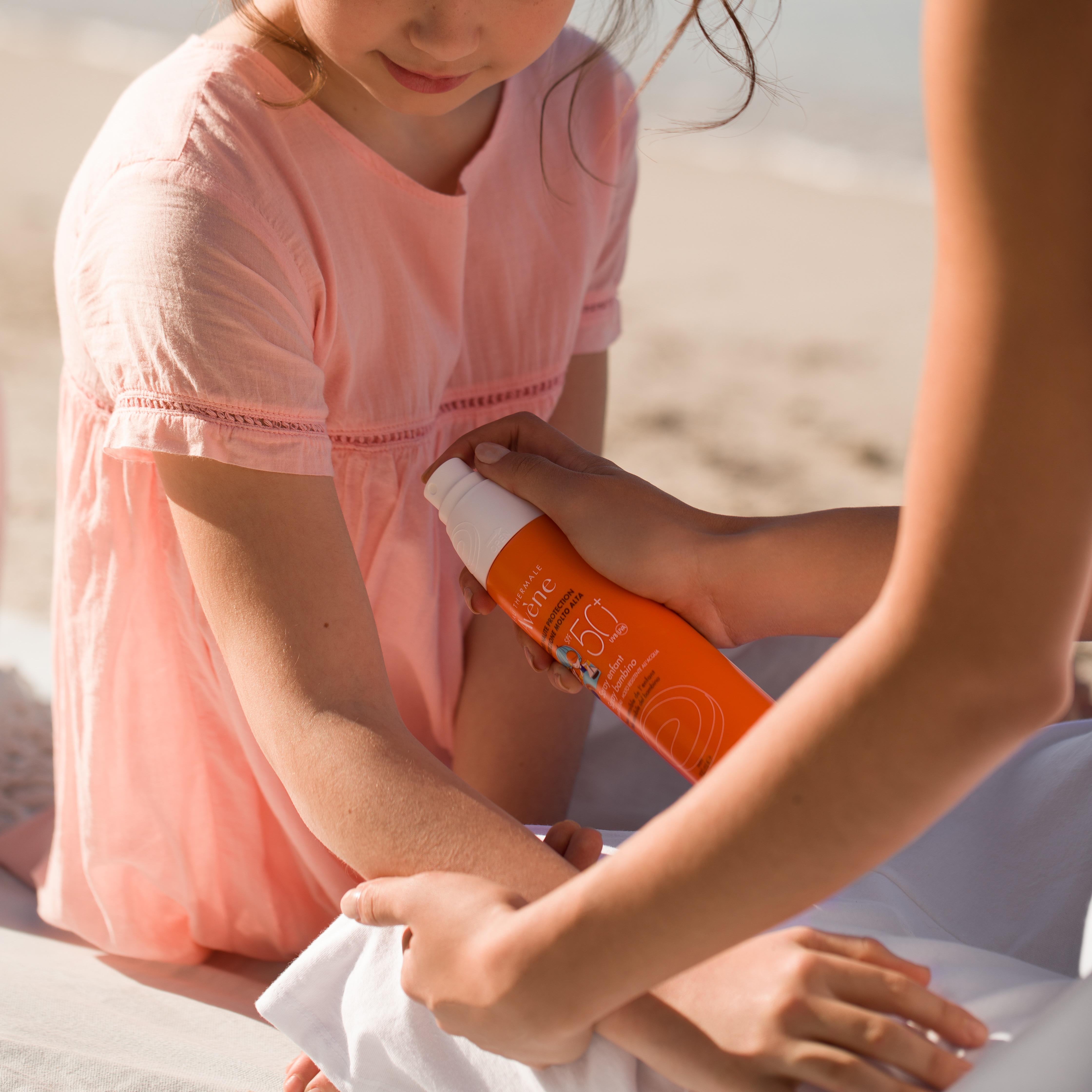 Protection solaire enfant SPF 50+