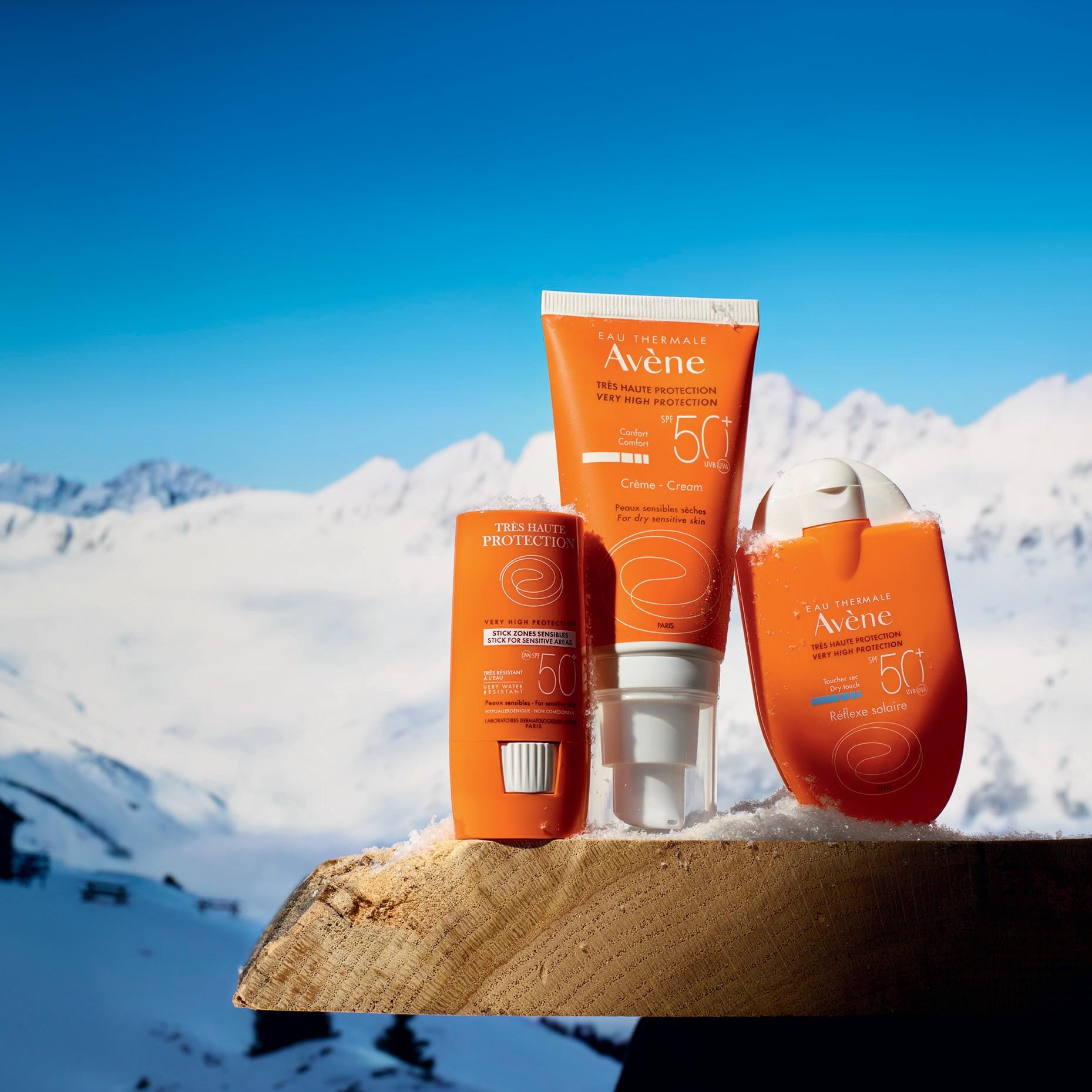 Protéger sa peau sensible au ski