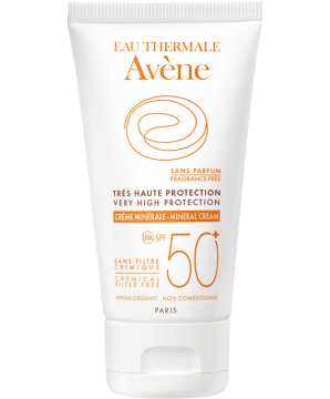 Crème minérale SPF50+