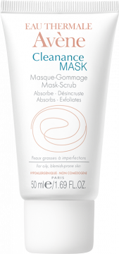 Tube 50ml Cleanance mask Masque gommage Eau thermale Avène