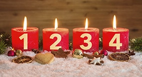 Le  calendrier Eau Thermale Avène  pour des fêtes sereines…