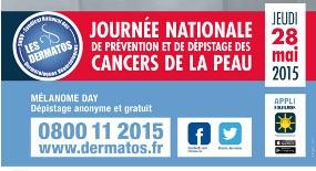 Jeudi 28 Mai 2015 : Mélanome Day !