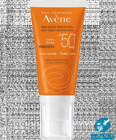 Crème teintée SPF 50+  Eau Thermale Avène