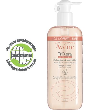 Gel nettoyant Trixera Nutrition