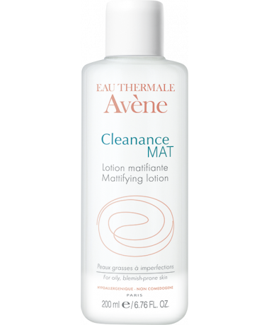 Flacon 200ml Cleanance mat lotion matifiante Eau thermale Avène