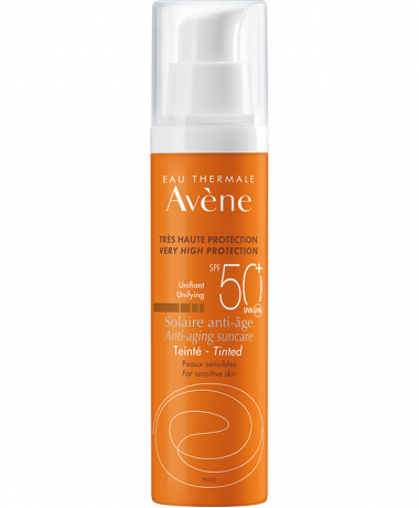 Solaire anti-âge με χρώμα SPF 50+