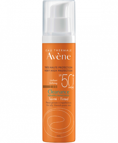 Cleanance Solaire με χρώμα SPF 50+