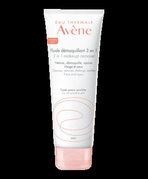 溫和防敏3合1卸妝乳