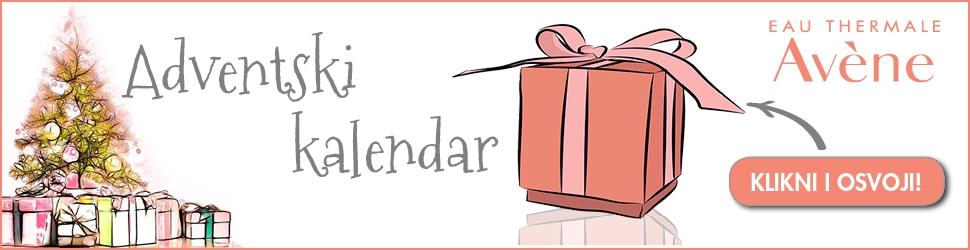 Eau Thermale Avène adventski kalendar