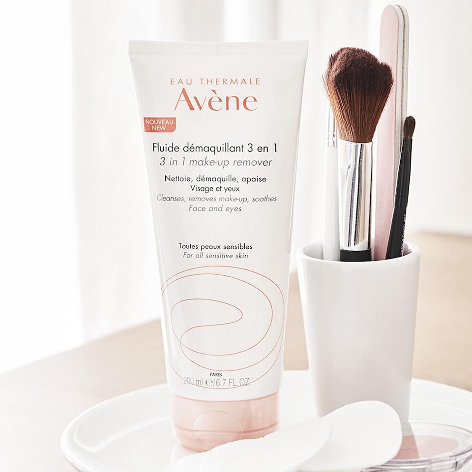 Eau Thermale Avène - Fluid za uklanjanje šminke 3 u 1