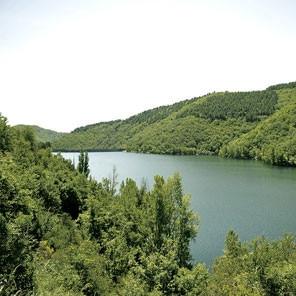 Avène, u centru parka prirode
