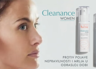 Cleanance WOMEN: rutina za pojavu akne u odrasloj dobi