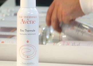 Eau Thermale Avène logotip kroz povijest