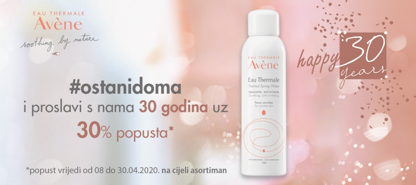 Eau Thermale Avène slavi 30 godina!
