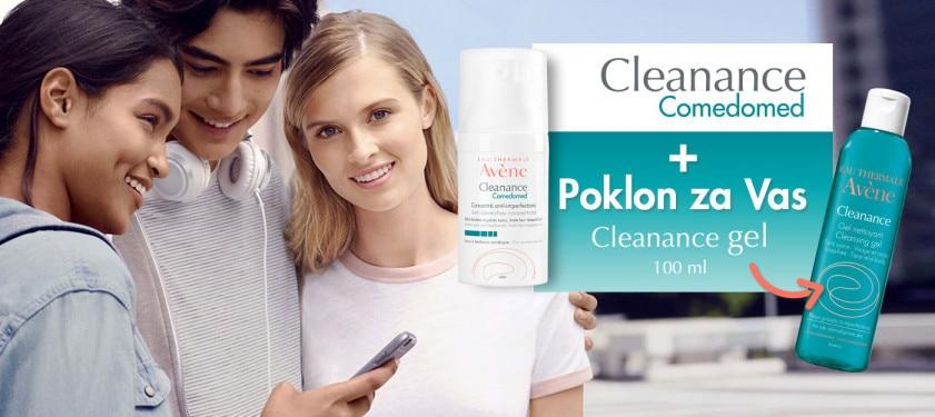 Posebna ponuda Comedomed koncentrat + Cleanance gel 100 ml GRATIS