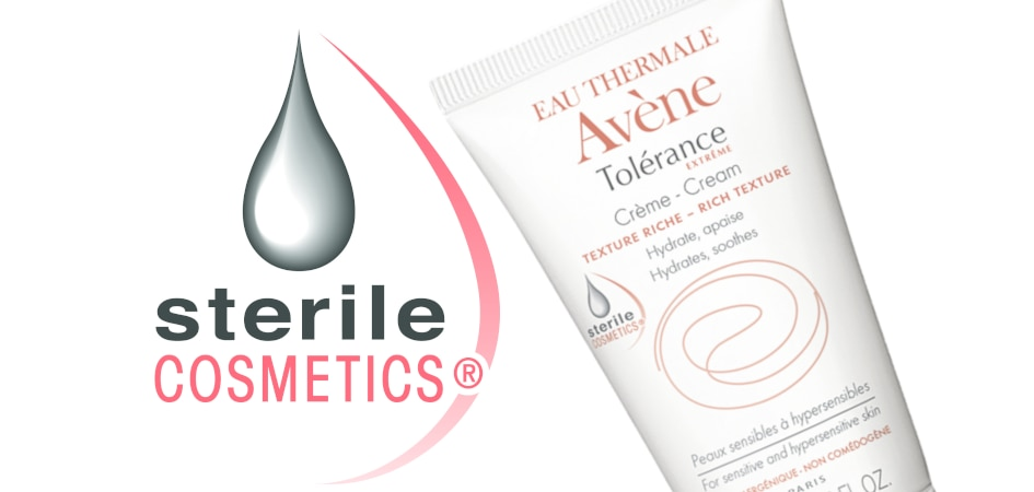 Eau Thermale Avène Sterile Cosmetics oznaka