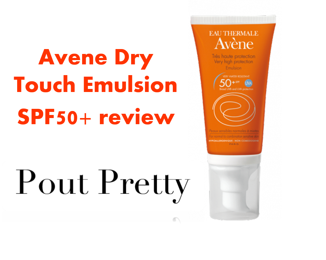 Avène New Dry Touch Very High Protection SPF50+ Emulsion ...