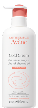 Ultra-rich cleansing gel with cold cream
