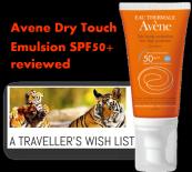 Avene Dry Touch suncare Emulsion @ A Travels Wish list blog