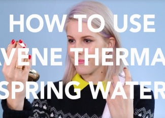 HOW TO USE THE AVENE THERMAL WATER SPRAY BY BIRCHBOX