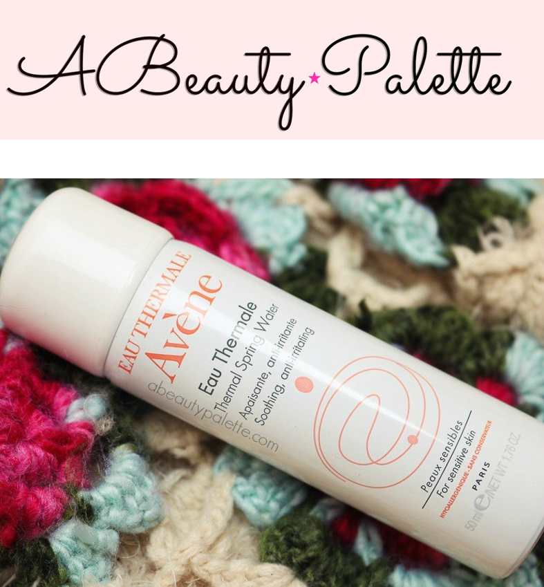 Avene Thermal Water spray @ A Beauty Palette Indian blogger