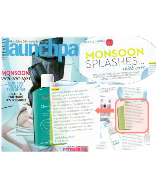 Launchpad - July issue - Cleanance Gel