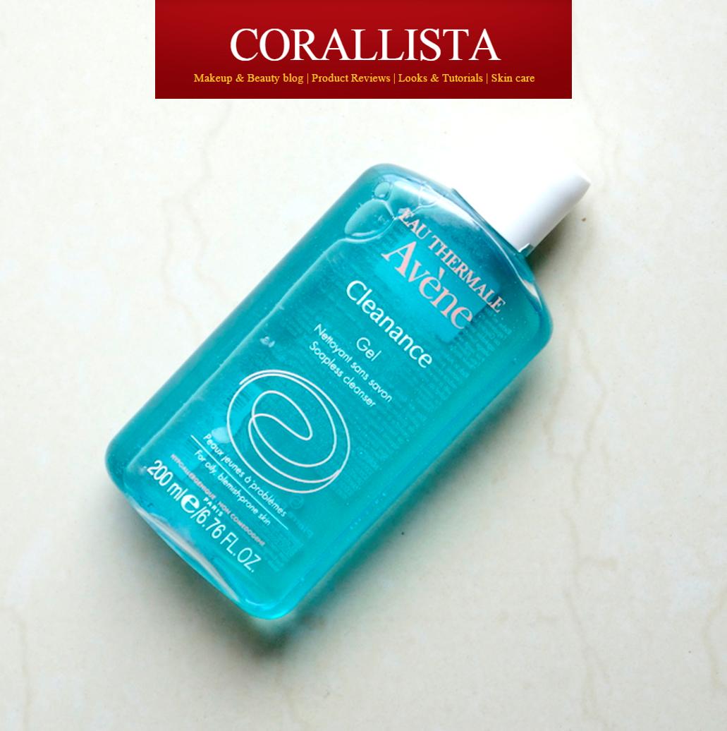 Avene Cleanance Gel @ Corallista beauty blog
