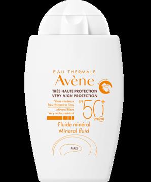 Avène | Protezione solare Pelli sensibili - Fluido minerale SPF 50+