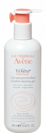 Trixera + Sélectiose Gel detergente emolliente