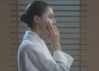 Maschera lenitiva idratante