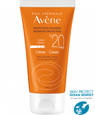Avène | Protezione solare Pelli sensibili - Crema SPF 20