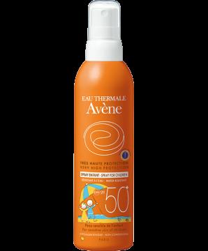 solaire peau sensible spray enfants spf 50