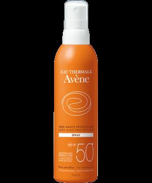 solaire peau sensible spray spf 50