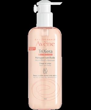 Nettoie en douceur, protège les peaux sensibles, soin lavant au pouvoir relipidant intense.