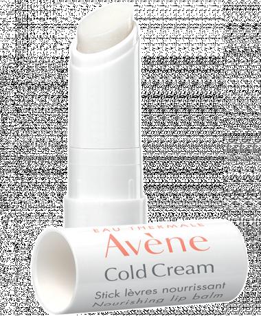 Cold Cream Stick Lèvres est indiqué pour les lèvres desséchées, qui ont tendance à tirailler, peler, voire gercer.