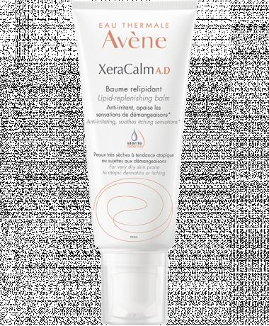 Le Baume Xeracalm AD d'Eau Thermale Avène convient aux peaux très sèches à tendance atopique et sujettes aux démangeaisons