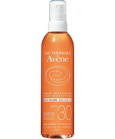 solaire peau sensible huile solaire spf 30