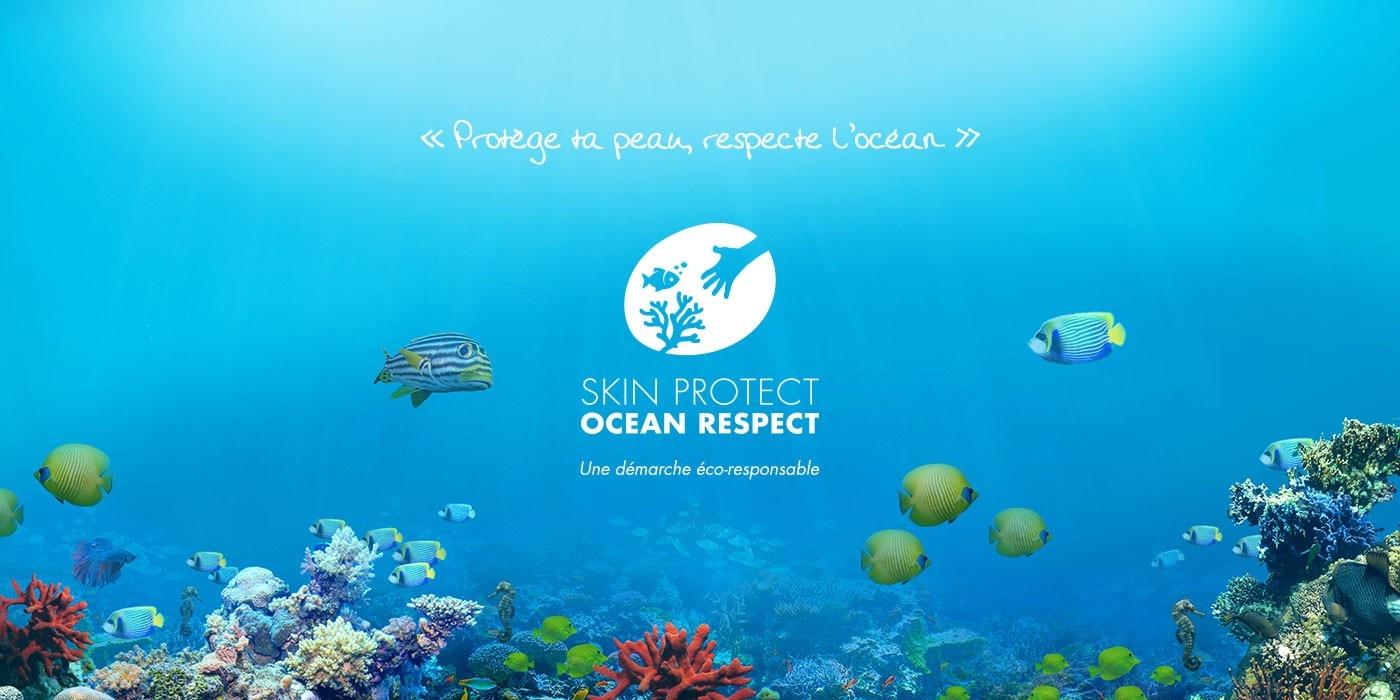 PROTÈGE TA PEAU, RESPECTE L'OCÉAN