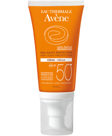 SPF 50+ Cream - Fragrance Free